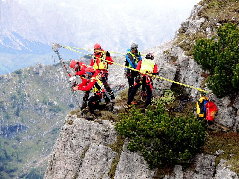 700 mila Euro per il soccorso alpino veneto