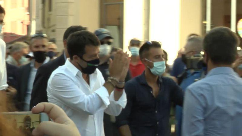 """Salvini in Veneto: """"La Lega stravincerà"""""""