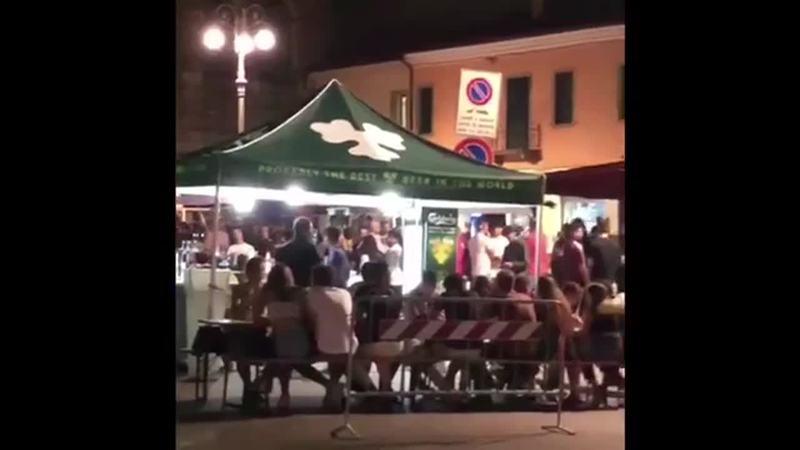 Uomo con l'ascia minaccia i ragazzini a Monselice