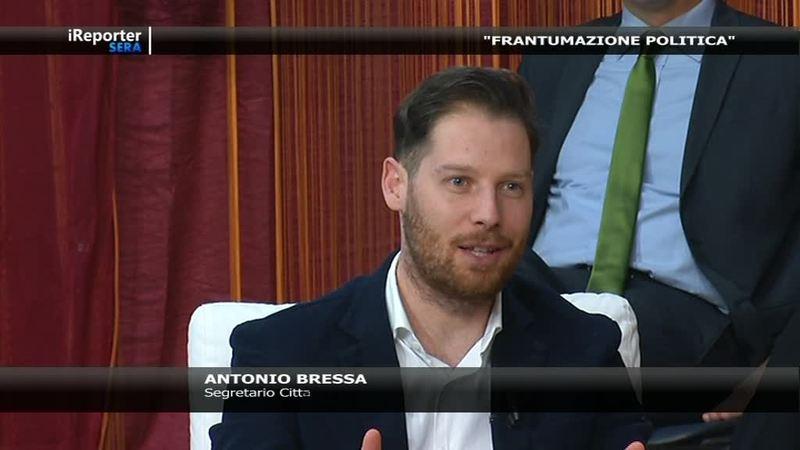 """""""BATTIBECCO POLITICO: BRESSA – MANZOLINI"""" AD IREPORTER SERA."""
