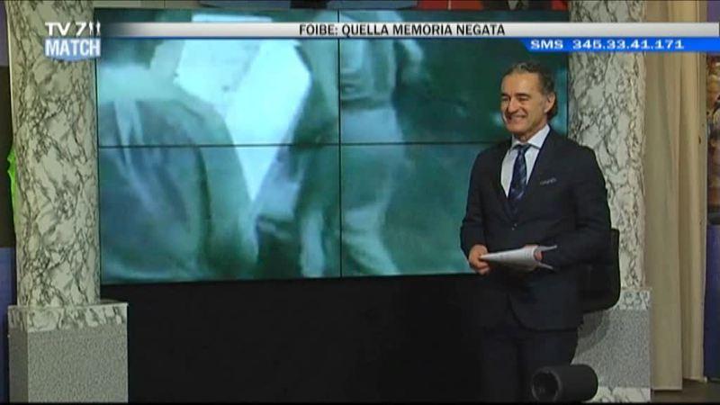 """""""FOIBE: LA MEMORIA NEGATA"""" A TV7MATCH"""