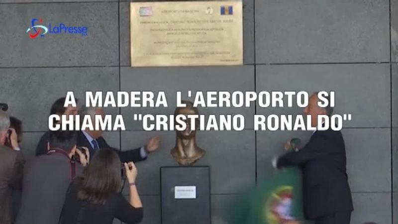 """A MADERA L'AEROPORTO SI CHIAMA """"CRISTIANO RONALDO"""""""