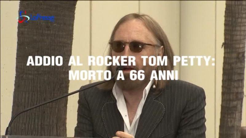 ADDIO AL ROCKER TOM PETTY: MORTO A 66 ANNI