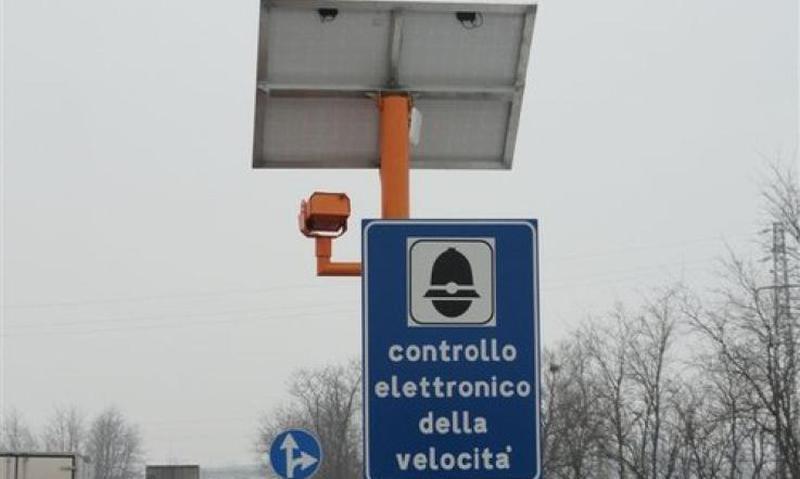 AGGIORNAMENTO PER GLI AUTOVELOX IN TANGENZIALE