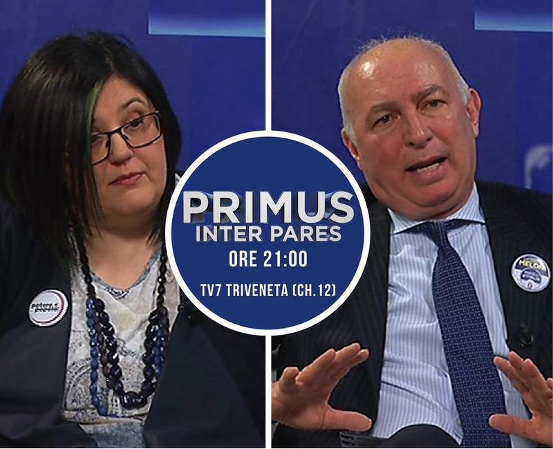 ALLE 21 PRIMUS INTER PARES SU TV7 TRIVENETA (CH 12)