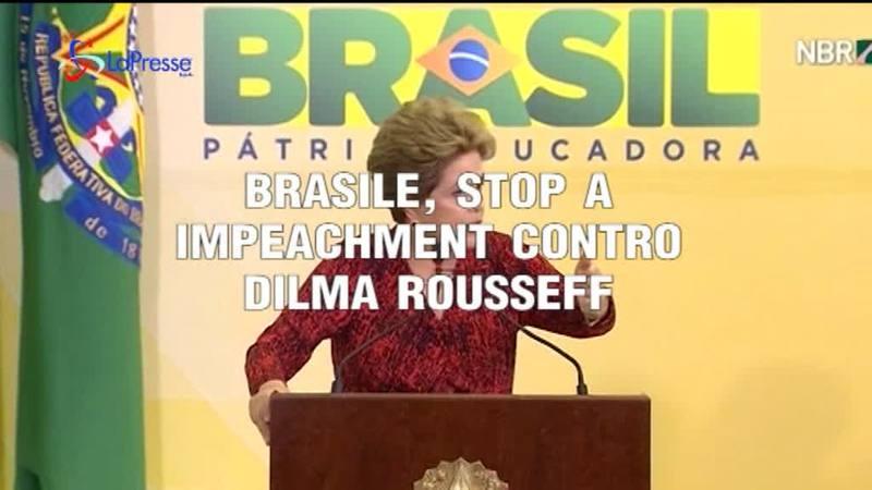 BRASILE, STOP A IMPEACHMENT CONTRO IL CAPO DELLO STATO