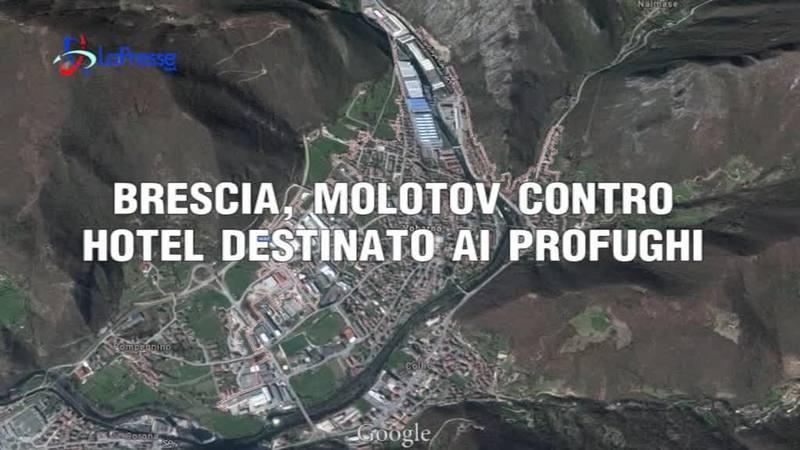BRESCIA, MOLOTOV CONTRO HOTEL DESTINATO AI PROFUGHI