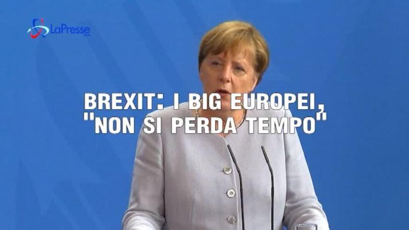 """BREXIT, I BIG EUROPEI: """"NON SI PERDA TEMPO"""""""