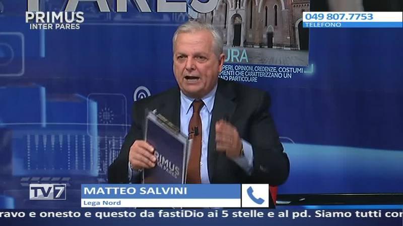 CADE LA GIUNTA BITONCI A PADOVA, PARLA SALVINI