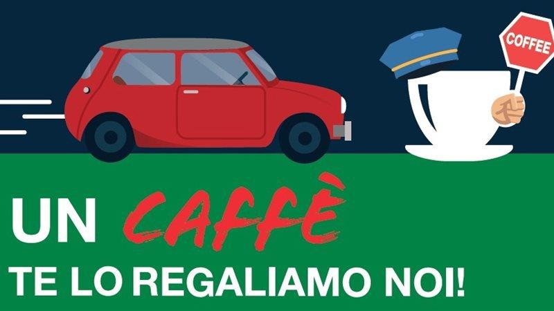 CAFFE GRATIS IN A4 PER LE NOTTI D'ESTATE