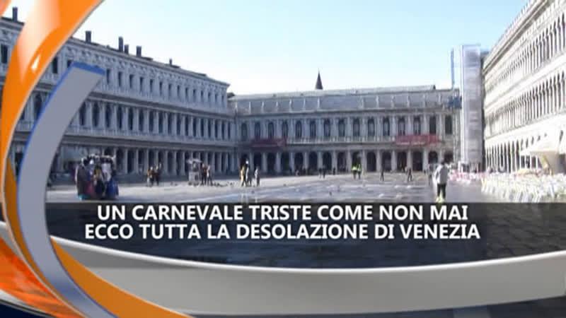 CARNEVALE DI VENEZIA TRISTE – IREPORTER TG 09/02/21