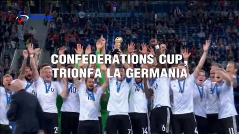 CONFEDERATIONS CUP, TRIONFA LA GERMANIA