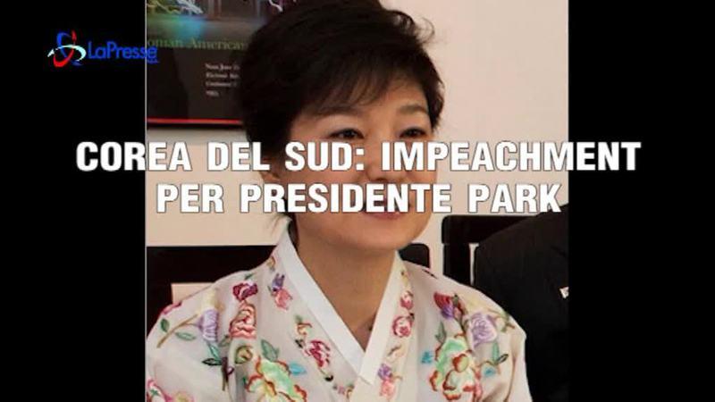 COREA DEL SUD: IMPEACHMENT PER PRESIDENTE PARK