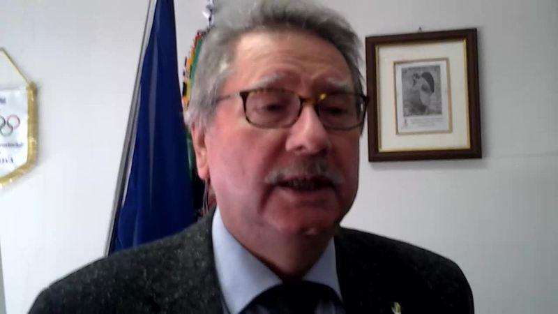 DINO PONCHIO LASCIA LA PRESIDENZA DEL CONI PROVINCIALE DI PADOVA