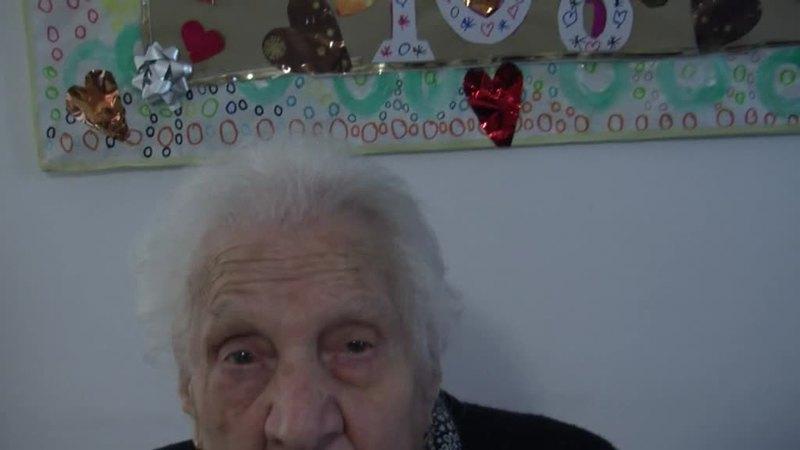 DOMANI L'ULTIMO SALUTO A MARIA, MORTA A 108 ANNI