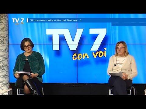 DRAMMA ROTTA DEI BALCANI – TV7 CON VOI 12/02/21