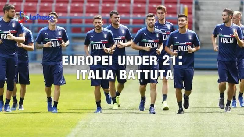 EUROPEI UNDER 21: ITALIA BATTUTA
