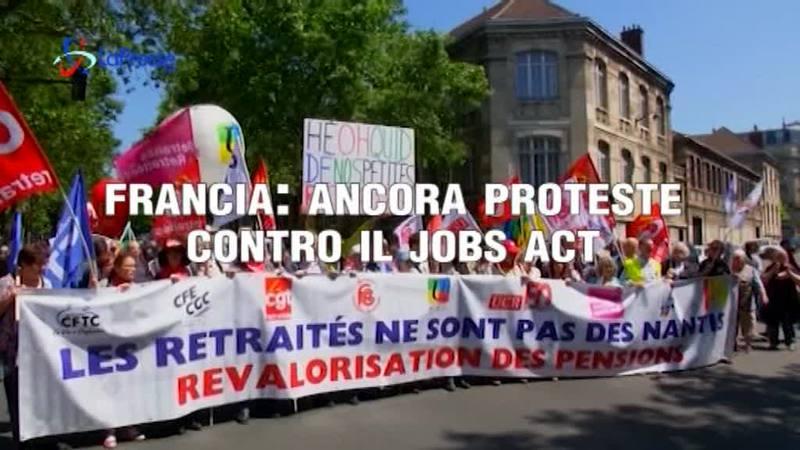 FRANCIA: ANCORA PROTESTE CONTRO IL JOBS ACT