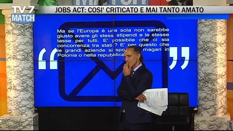 IL DECRETO DIGNITA' E IL LAVORO A TV7MATCH