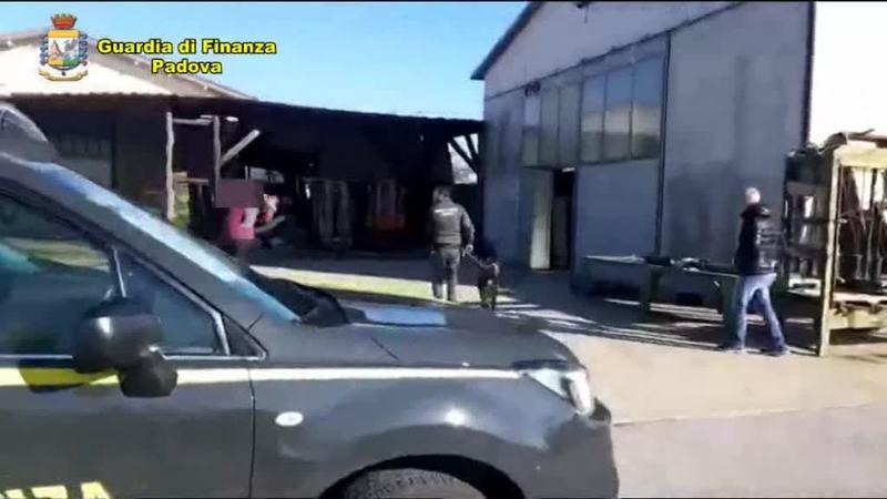 IMPRENDITORE NASCONDEVA LA DROGA IN CAPANNONE