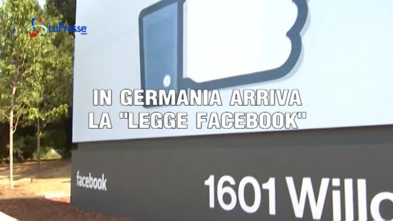 """IN GERMANIA ARRIVA LA """"LEGGE FACEBOOK"""""""