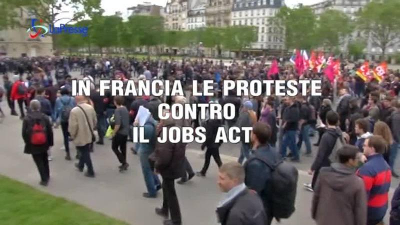 JOBS ACT: LA FRANCIA PROTESTA