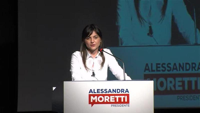 LE DONNE DEL PD PER ALESSANDRA MORETTI