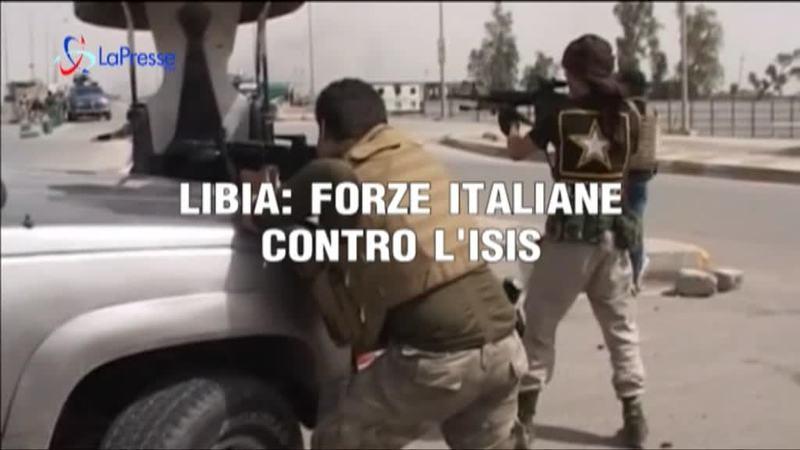 LIBIA: FORZE ITALIANE CONTRO L'ISIS