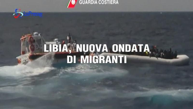 LIBIA, NUOVA ONDATA DI MIGRANTI