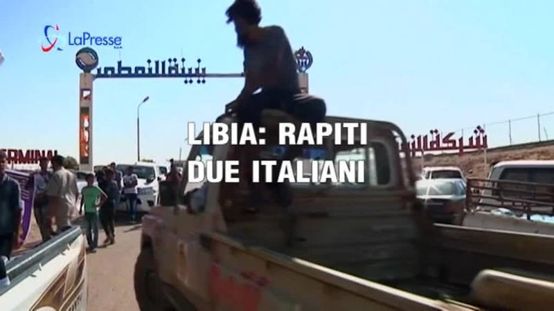 LIBIA: RAPITI DUE ITALIANI