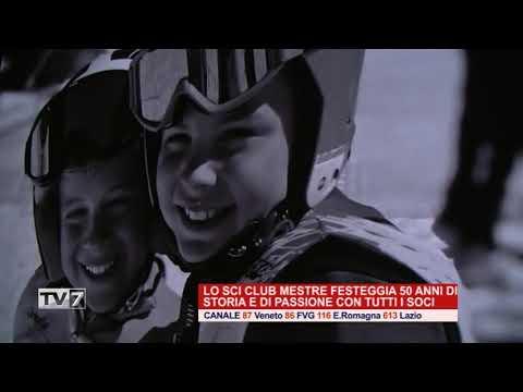 LO SCI CLUB DI MESTRE FESTEGGIA 50 ANNI DI STORIA