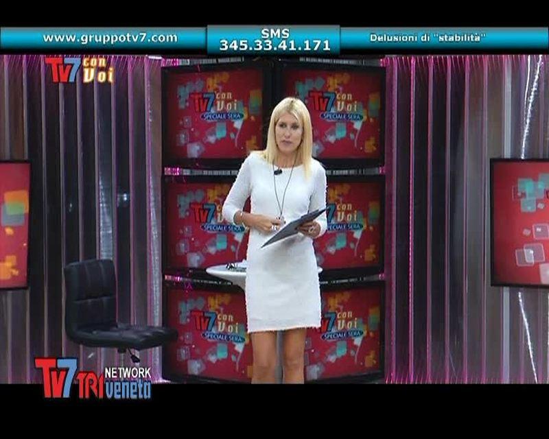 """MANLIO D'AGOSTINO, ECONOMISTA, INTERVIENE IN DIRETTA A """"TV7 CON VOI SERA"""" DEL 22/10/2013"""