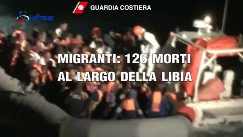 MIGRANTI: 126 MORTI A LARGO DELLA LIBIA