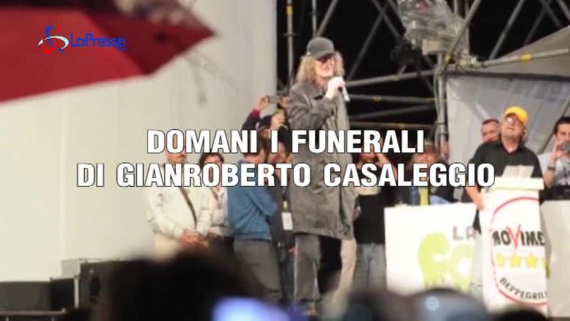 MORTE CASALEGGIO, DOMANI I FUNERALI