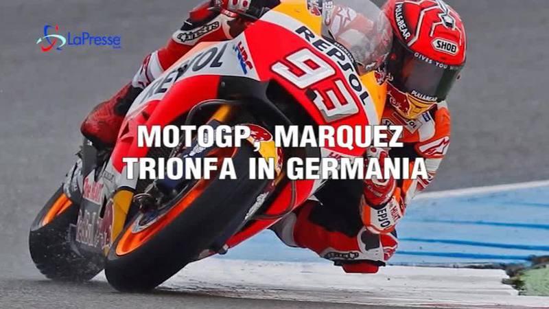 MOTOGP, MARQUEZ TRIONFA IN GERMANIA