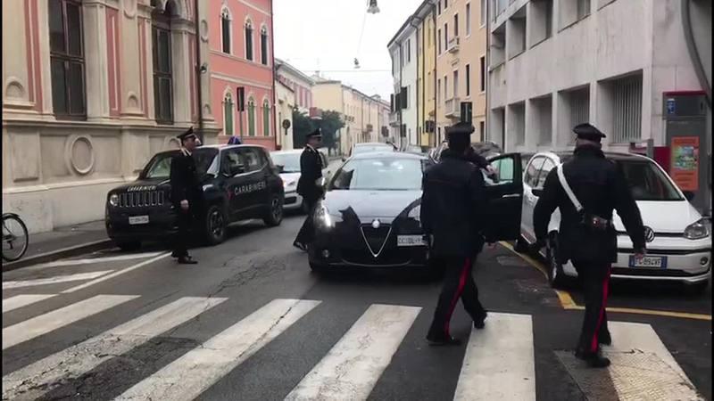 OTTO A PROCESSO A ESTE PER FURTO DI GASOLIO