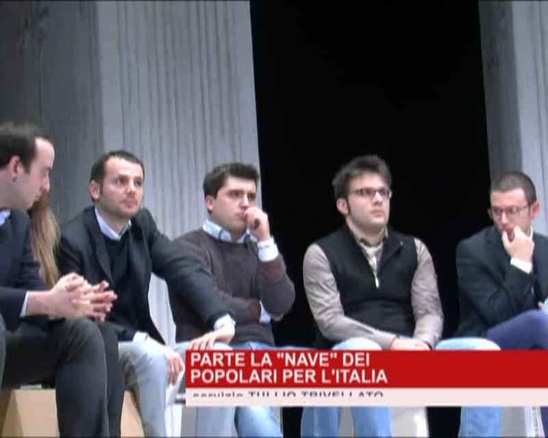 """PARTE LA """"NAVE"""" DEI POPOLARI PER L'ITALIA"""