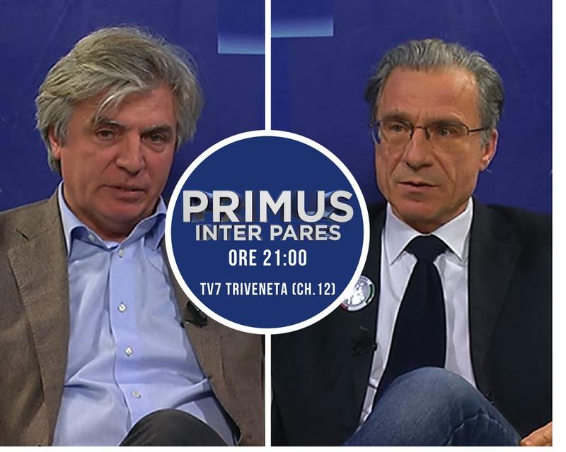 PRIMUS INTER PARES, ORE 21 SU TV7 TRIVENETA (CH12)