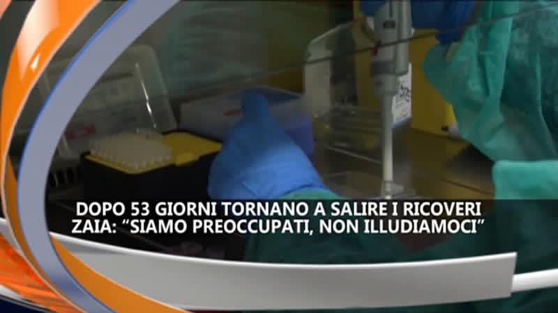 TORNANO A SALIRE I RICOVERI  IREPORTER TG 23/02/21