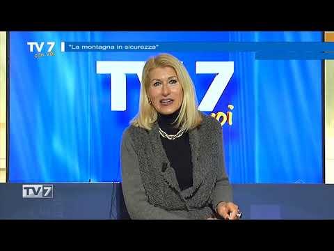 TV7 CON VOI DEL 12/1/2021 – MONTAGNA IN SICUREZZA
