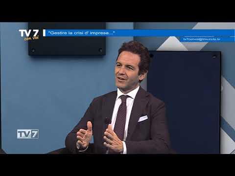 TV7 CON VOI DEL 17/12/19 – GESTIRE CRISI D'IMPRESA