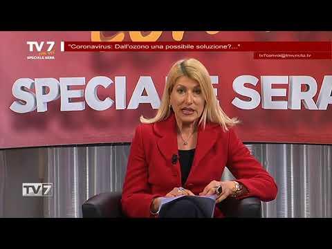 TV7 CON VOI SERA 24/3/20 CORONAVIRUS, OZONOTERAPIA