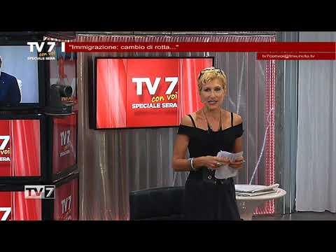 TV7 CON VOI SERA DEL 19/6/2018 – IMMIGRAZIONE