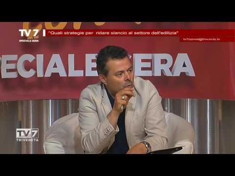 TV7 CON VOI SERA DEL 7/6/2016 – STRATEGIE SETTORE EDILIZIO