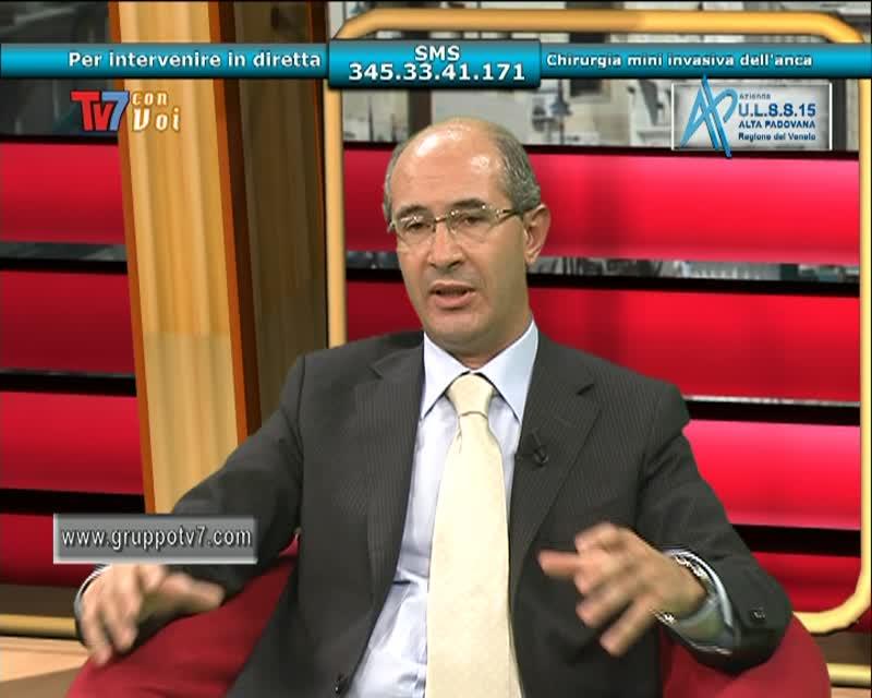 TV7 CON VOI – ULSS 15 – CHIRURGIA MINI INVASIVA DELL'ANCA