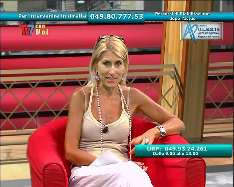TV7 CON VOI – ULSS 15 – PERCORSI DI RIABILITAZIONE DOPO L'ICTUS