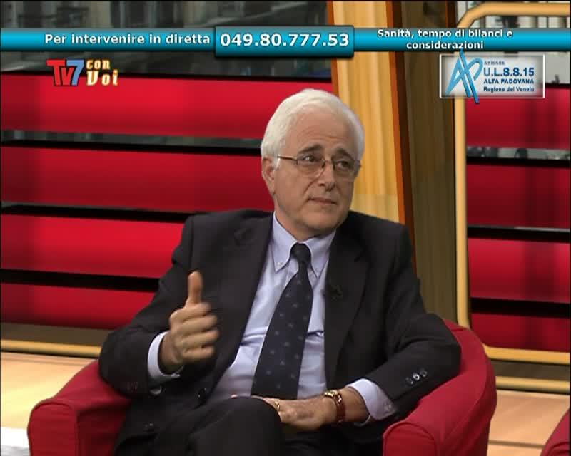 TV7 CON VOI – ULSS 15 – SANITà TEMPO DI BILANCI E CONSIDERAZIONI