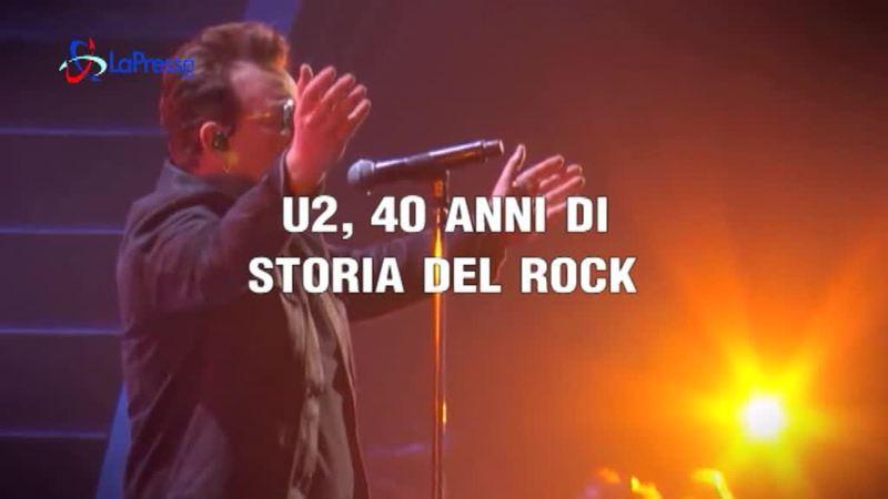 U2, 40 ANNI DI ROCK