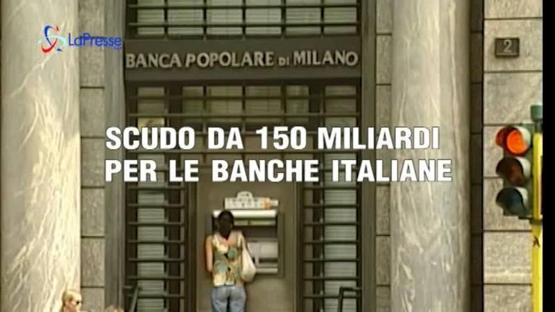 UE, SCUDO ALLE BANCHE ITALIANE DA 150 MILIARDI