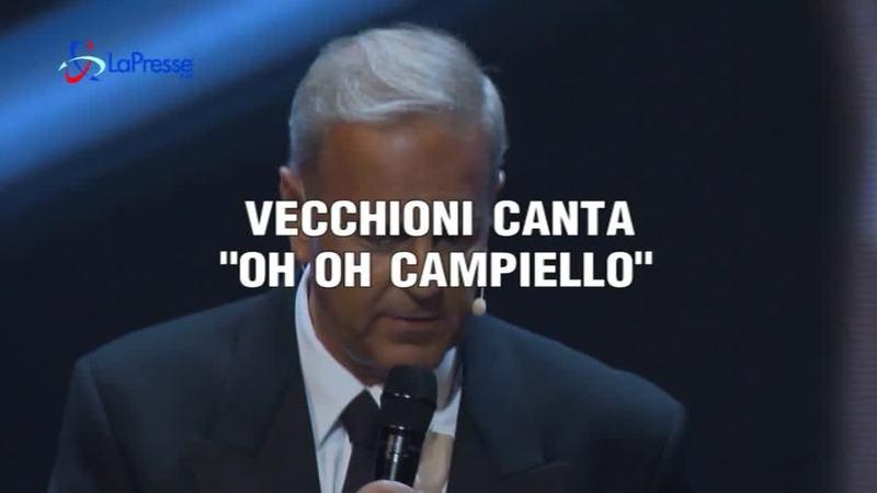 """VECCHIONI CANTA """"OH OH CAMPIELLO"""""""